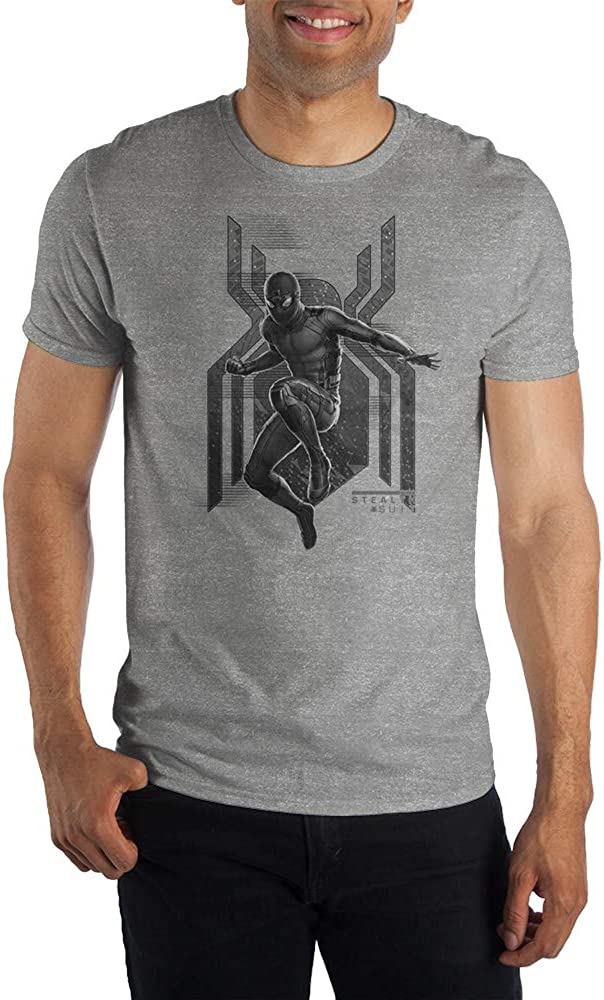 Marvel Spider-Man: Far From Home Steal Suit Short-Sleeve T-Shirt