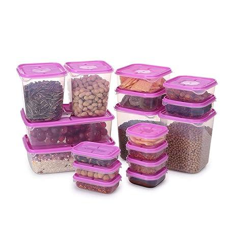 17 piezas sin BPA reutilizable, para microondas ...