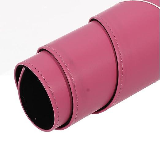 Amazon.com : eDealMax PU de Cuero de la PC de escritorio del ordenador Agua Resistente Mat Gaming Mouse Pad 90cm Larga de Color rosa : Office Products