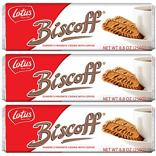 Biscoff Cookies Original Singles Pack (96 Cookies / 26.4 oz Total)