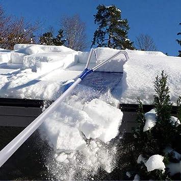 WELLWEN Tejado nevado Pala 6M remoción Nieve Herramienta remoción ...