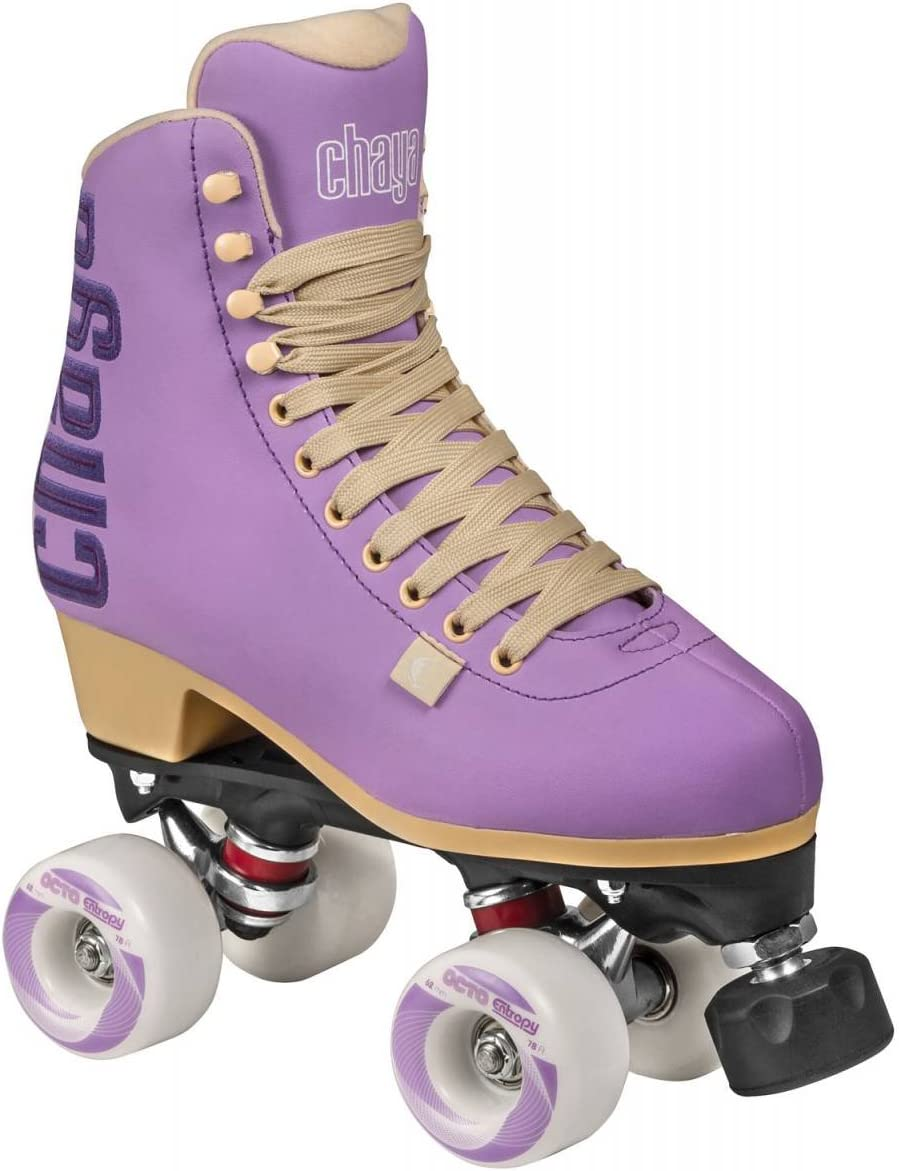Chaya Melrose Sweet Lavender Quad Indoor Outdoor Roller Skates
