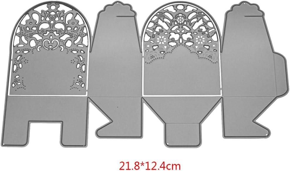 Troqueles de Corte de Metal de China Qiuxiaoaa Plantilla de Troqueles de Metal Caja Plantilla de Troqueles de Corte para Bricolaje /Álbumes en Relieve /Álbumes de Papel para Tarjetas de Papel