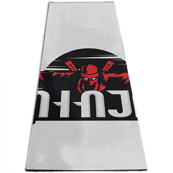 Amazon.com : Workout Mat Outdoor Ninja Logo Ninja Sun Ninja ...