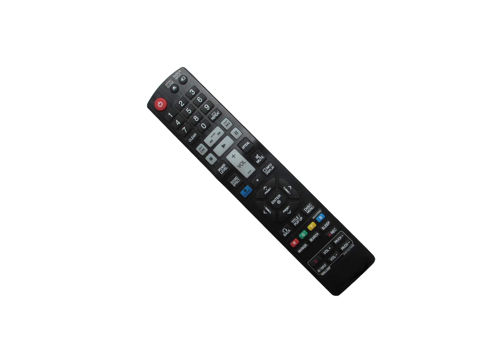 HCDZ Replacement Remote Control for LG AKB69491513 AKB69491503 AKB69491501 AKB73775801 BD Blu-ray Home Theater System