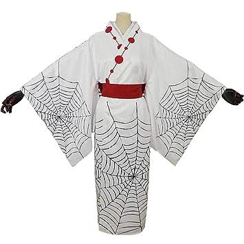 LJLis Mujeres Kimono Batas Japonés Anime Cosplay Disfraz Disfraces ...