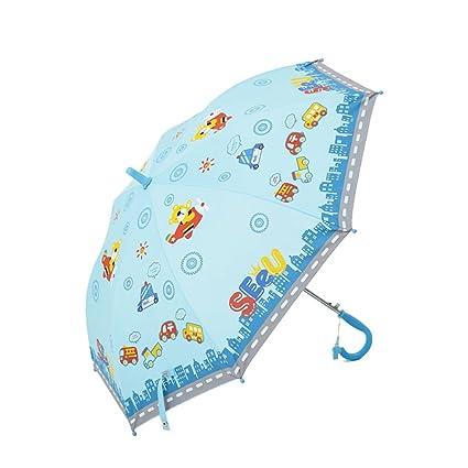 SX-ZZJ Paraguas Plegables Paraguas de bebé para Niños Protector Solar Protector de Paraguas Creativo