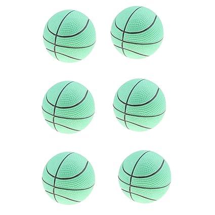 non-brand 6 Piezas Juguete de Pelota de Baloncesto Hinchable Juego ...