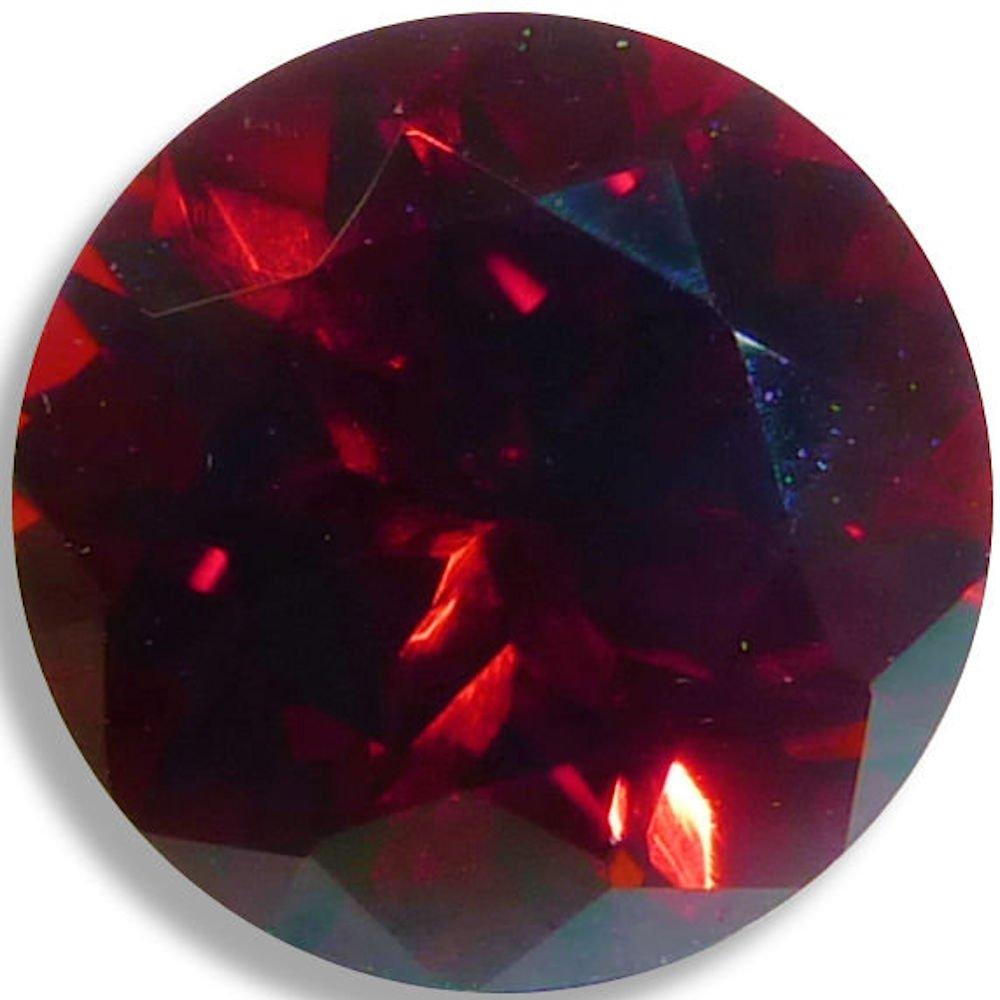 Natural Garnet Red Round Brilliant Loose Unset Gem (4mm) by Optima Gem (Image #1)
