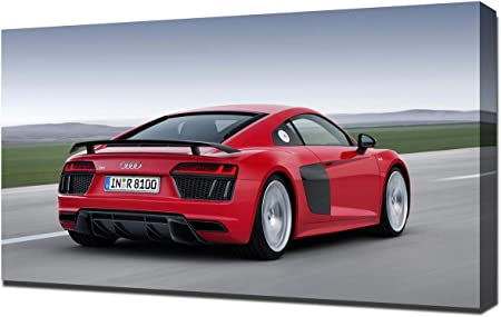 2016 AUDI R8 POSTER 24 X 36 INCH Looks GREAT!