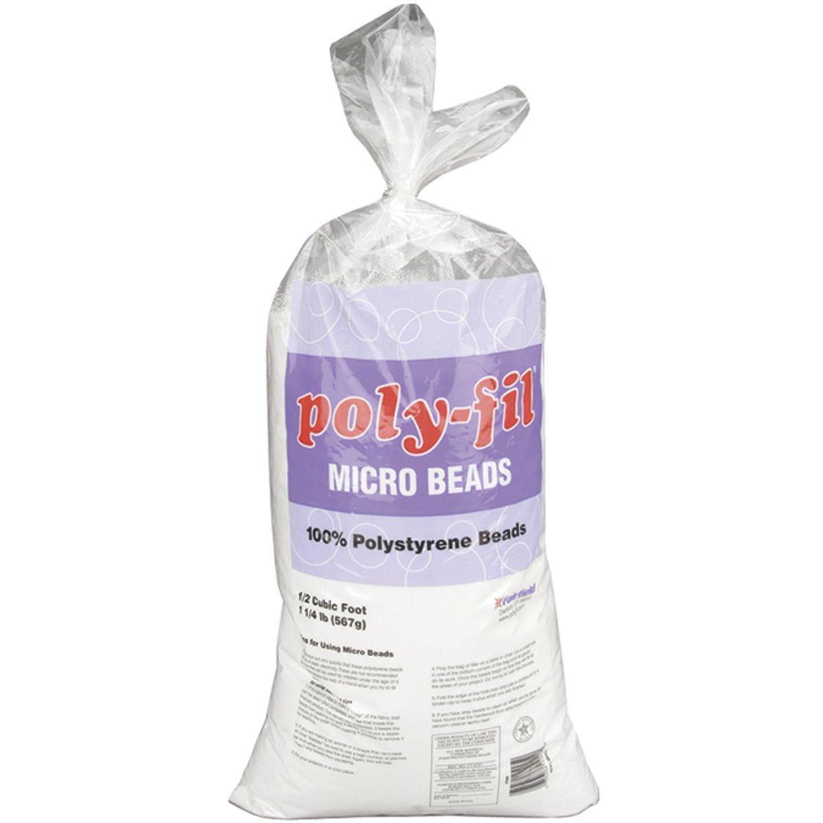 Fairfield Poly-Fil Micro Beads, 20-Ounce PFMB