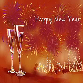 gladsbuy happy new year 10 x 10 computer printed photography backdrop new year celebration