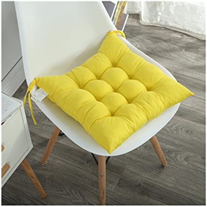 Amazon.com: Pask of 2 Chair Cushions Pads Indoor Dining Chair Pad ...