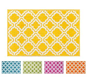 rug mat doormat well woven modern kids room kitchen rug calipso yellow