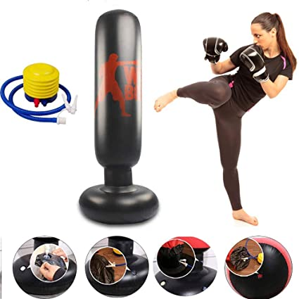 Amazon.com: CRRD - Saco de boxeo inflable para niños y ...