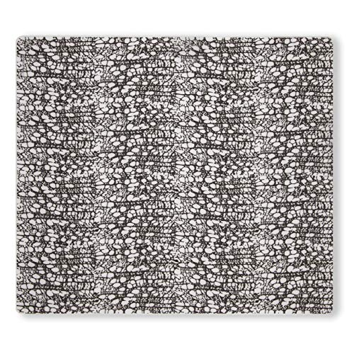 - modern-twist 816990012356 Cocoon Print Placemat 100% plastic free silicone, tabletop, dining, decoration, modern design, Rectangle, Chocolate