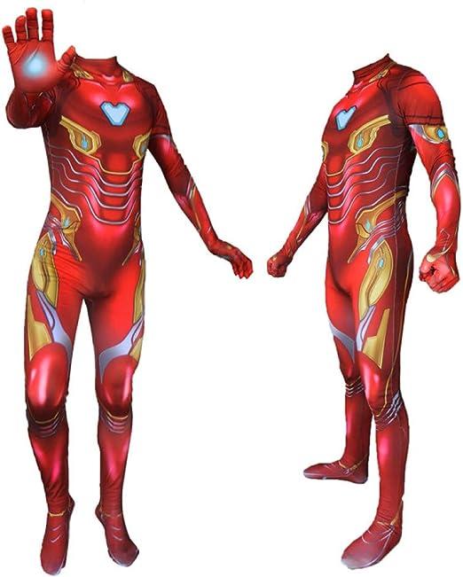 CVFDGETS Movie Avengers 4 Iron Man Blood Warfare Cosplay Ropa ...