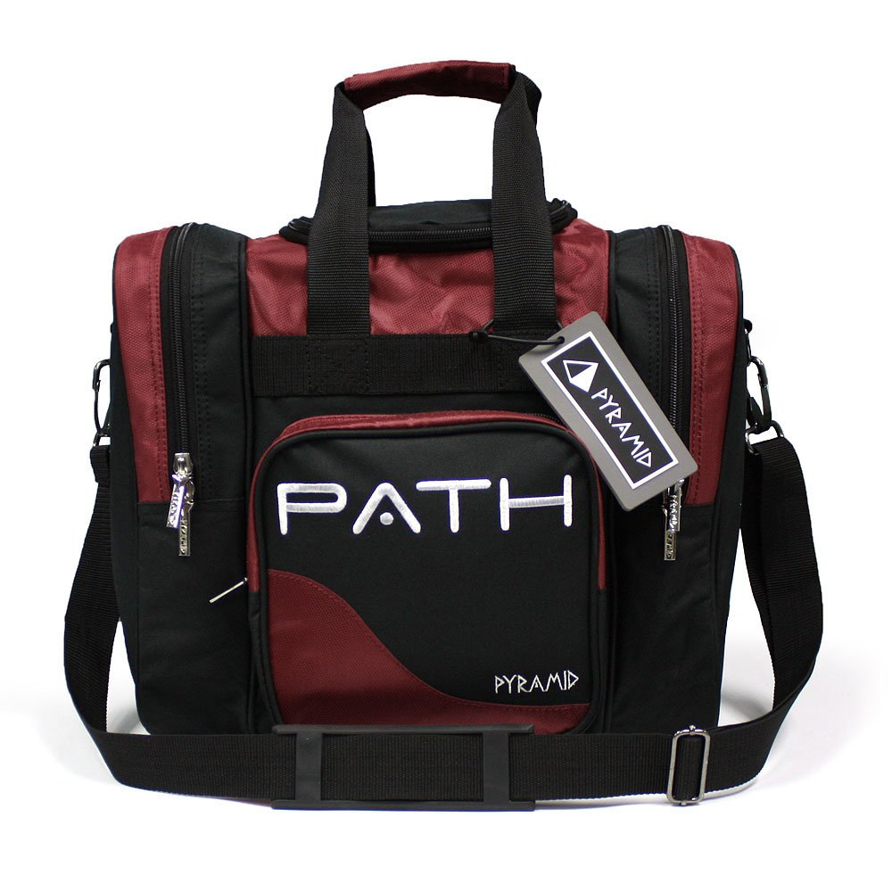 Pyramid Path Pro Deluxe Single Tote - Black/Burgundy by Pyramid