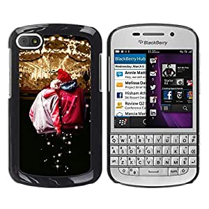 LECELL -- Funda protectora / Cubierta / Piel For BlackBerry Q10 -- Design Circues Friends --