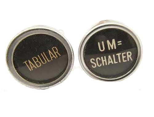 miniblings Interruptor Gemelos de la máquina de Escribir tablatura Gran SWZ