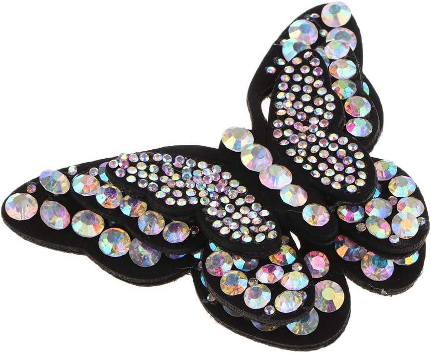 perfk 3D Butterfly Design Parche con pedrería Costura/Hierro sobre ...