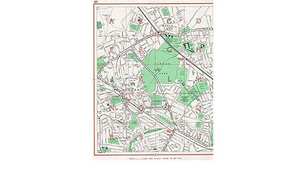 Hatch End Harrow Garden Village Nower Hill Headstone 1964 old map PINNER