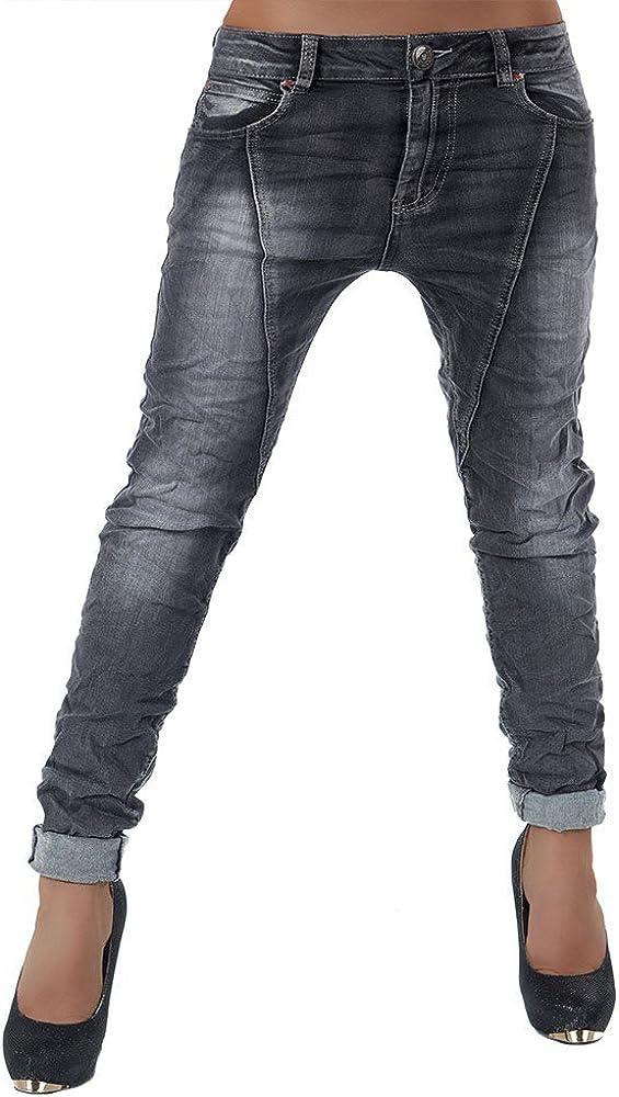 Mujer Skinny Pantalones vaqueros pantalones cadera tubular ...