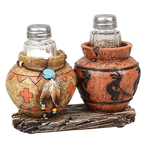 Southwest Jar Salt & Pepper Shaker Set by Black Forest Decor