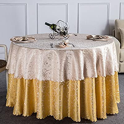 Ronda doble mesa mantel hotel mantel mesa redonda mantel Mantel ...