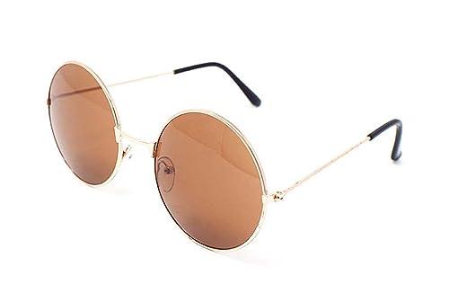 Ultra ® Adults Retro Round Sunglasses John Lennon Style Vintage Look UV400 John Lennon Style for Men Women Silver Gold Green Black Red Brown Pink Purple