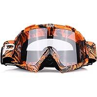 Qiilu Gafas Protección de moto para Motocross Esqui