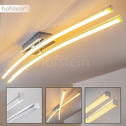 Minimalistische Designer Leuchte Mit Drehbaren Leuchtstäben Für Die Decke U2013  LED Deckenlampe Mit Warmweißem Licht
