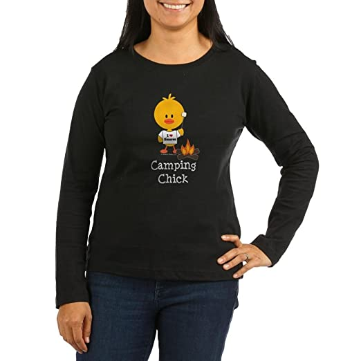 080465e5027a49 CafePress - Camping Chick Women s Long Sleeve Dark T-Shirt - Women s Long  Sleeve T