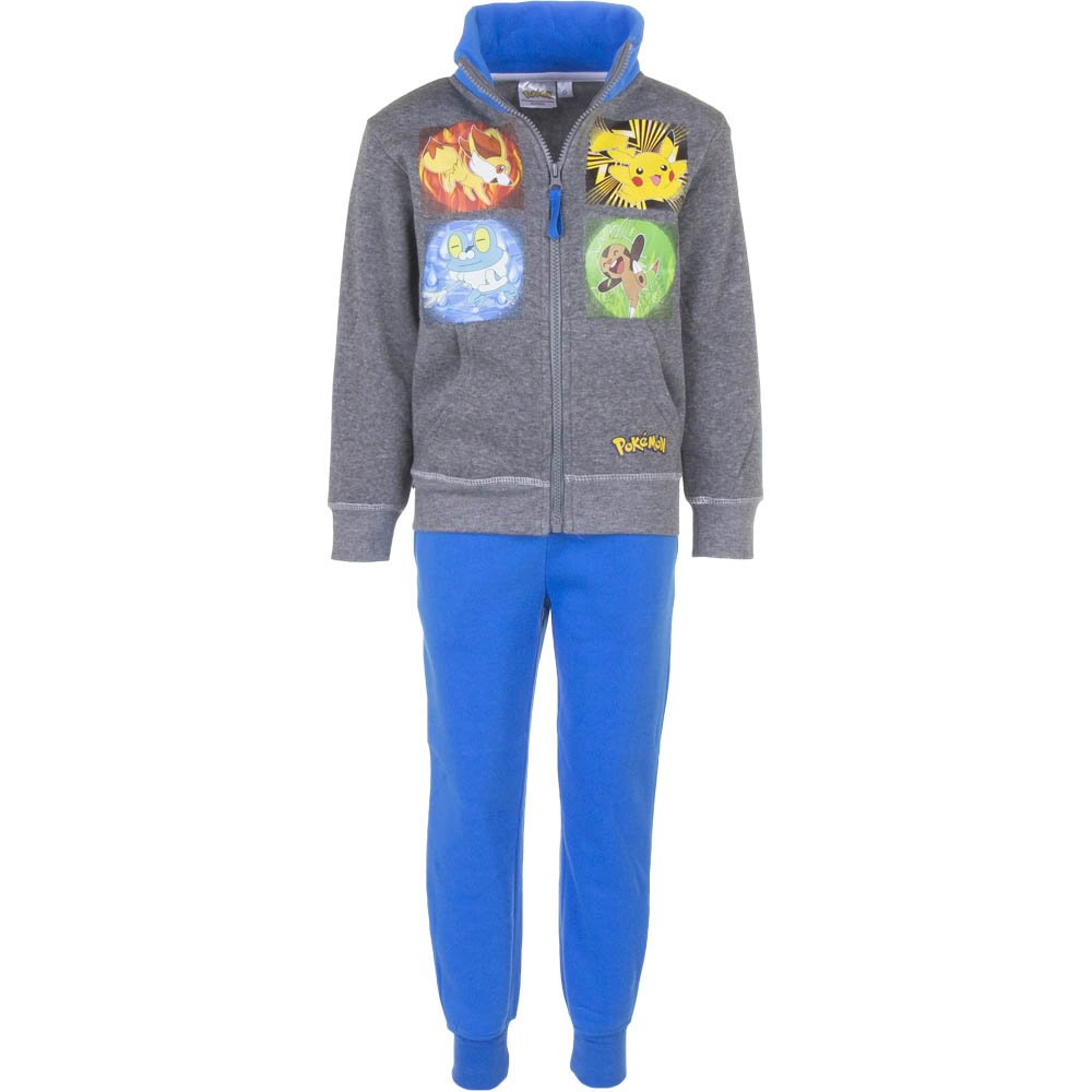Lizenz: Pokémon - Chándal - para niño Oberteil grau / Hose blau 4 ...