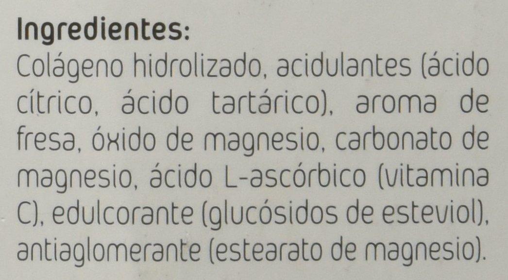 AMLsport - Colágeno con Magnesio + Vitamina C (20 sticks) - Sabor fresa