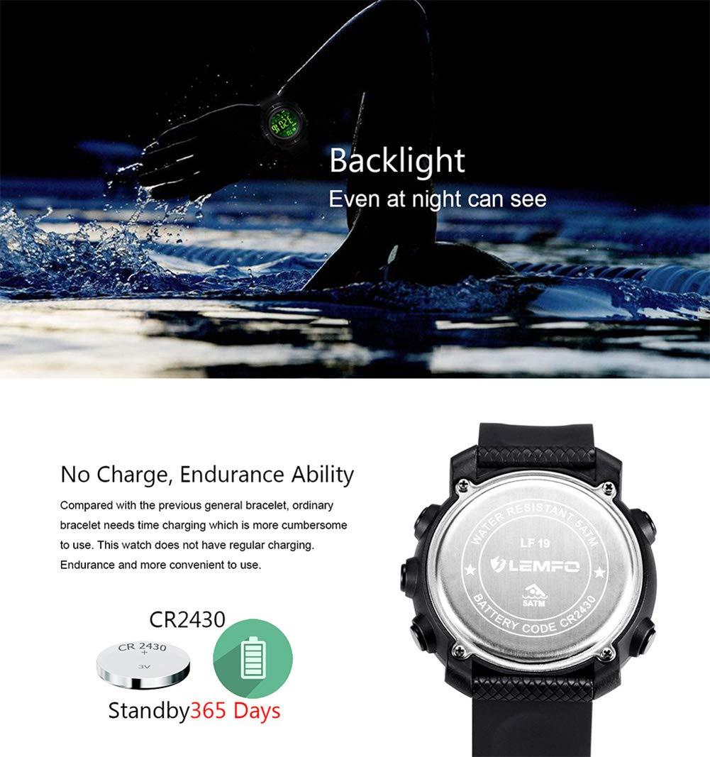 LEMFO LF19 - Reloj Inteligente con podómetro, recordatorio de ...