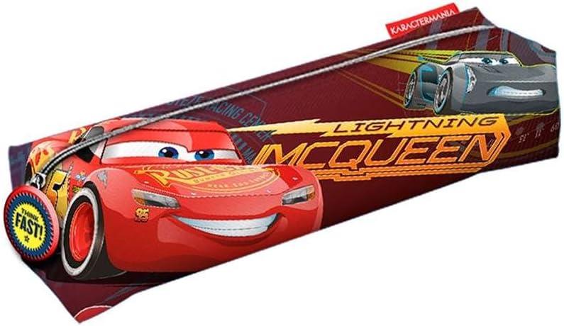 Cars 3 Estuche portatodo Cuadrado, Color Rojo, 22 cm (Karactermanía 32477): Amazon.es: Juguetes y juegos