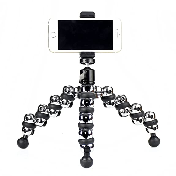 Mama Win Octopus Style Portable And Adjustable Tripod Stand Holder For  IPhone, Cellphone ,Camera