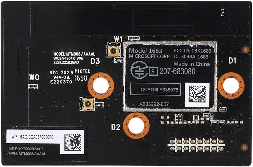 Heayzoki Accesorio de Tarjeta de Red de Placa de módulo de Antena inalámbrica WiFi para Xbox One S, Piezas de Repuesto de reparación de Tarjeta de Placa de módulo inalámbrico WiFi