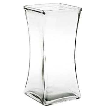 Royal Imports Jarrón de vidrio de flores con eje central decorativo para boda o hogar Claro: Amazon.es: Hogar