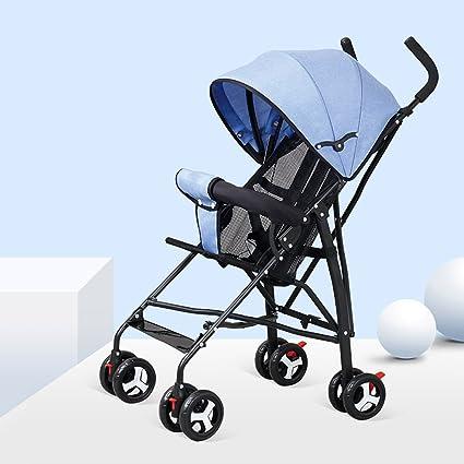 Baby stroller- Cochecito de bebé portátil ultraligero Fácil ...