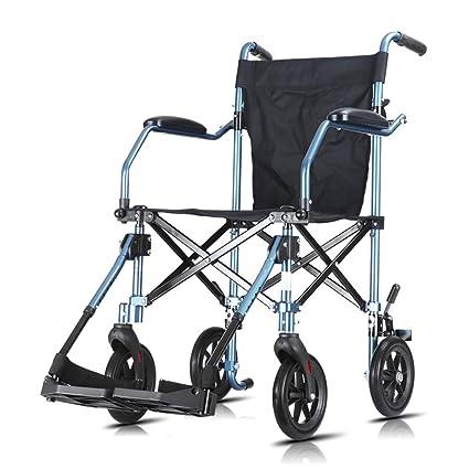 Silla de ruedas Rampas Ultraligera, Plegable, Ligera, Antigua, portátil de Viaje,