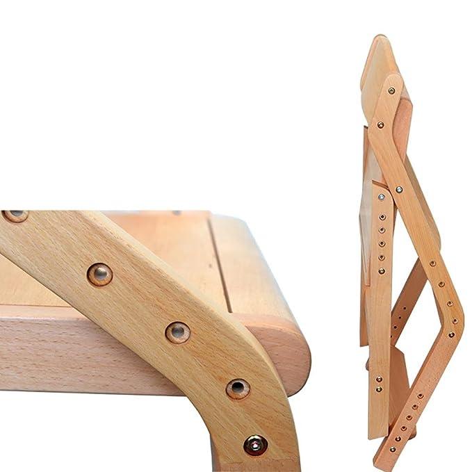 Amazon.com: GANJINM Sillón de madera maciza para estudiantes ...