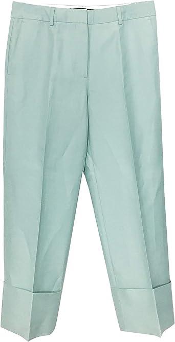 Zara 1478/051 - Pantalón para Mujer con Dobladillo Giratorio ...