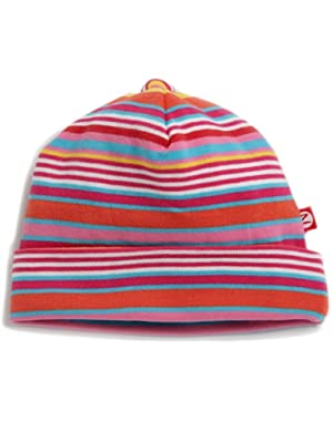 Baby-girls Infant Multi Stripe Hat