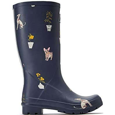 on sale ba841 b9f01 Tom Joule Joules Roll Up Gummistiefel Grey Dogs