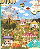 Jane Wooster Scott Puzzle Carnival Time At Willow Bend 1000pcs