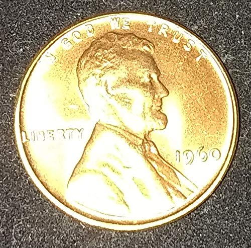 1960 P U.S. Lincoln Memorial *SMALL DATE* Tough Variety Cent MS 66+ RED American Mint U.S.A. ()