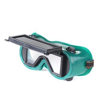 ATOPLEE 2 piezas de soldadura y corte soldadores Gafas de seguridad Orientación vertical de color verde oscuro Lentes Gafas: Amazon.es: Bricolaje y ...