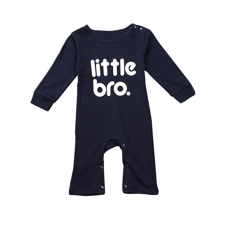 LUQUAN Climbing Clothes Unisex Baby Letter Pringting Romper Jumpsuit Outfits
